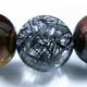 最高級AAAAA黒針水晶 トリプルタイガーブレス 写真3