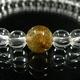 【5A】タイチンルチル&天然本水晶ブレスレット - 縮小画像2