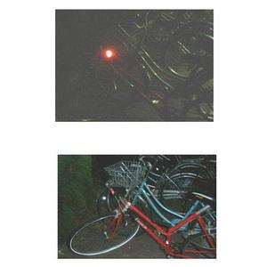 夜の駐輪場で困らないLEDライト 自転車見つけ隊 6個セット