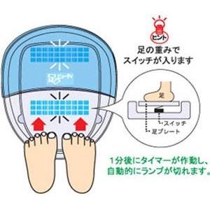家庭用紫外線水虫治療器 足ビューティー