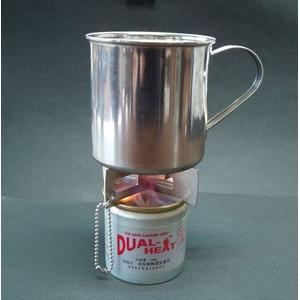 災害用 湯沸かしセット DUAL-HEAT(デュアルヒート)