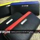 FRUH(フリュー) ステアリングレザー ラウンドジップウォレット ブラック