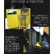 FRUH(フリュー) ステアリングレザー キーケース イエロー - 縮小画像3