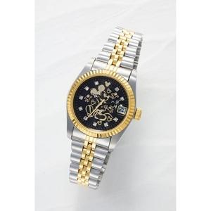 ミッキー夢物語上映70周年記念腕時計【ブラック】 - 拡大画像