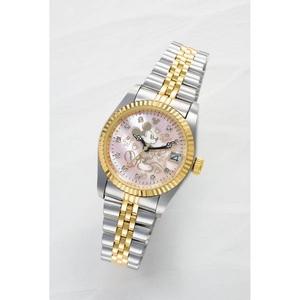 ミッキー夢物語上映70周年記念腕時計【ピンク】 - 拡大画像