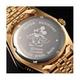 パイカットミッキー1アイグリッツ 腕時計【メンズ ピンクゴールドコンビ】 - 縮小画像2