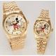 パイカットミッキー1アイグリッツ 腕時計【メンズ ゴールド】 - 縮小画像1