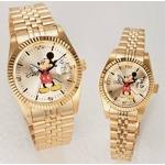 パイカットミッキー1アイグリッツ 腕時計【メンズ ゴールド】