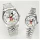 パイカットミッキー1アイグリッツ 腕時計【メンズ シルバー】 - 縮小画像1