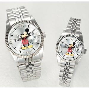 パイカットミッキー1アイグリッツ 腕時計【レディース シルバー】 - 拡大画像