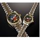 ミッキーダイヤモンドファンタジア 腕時計【メンズ ブラック】 - 縮小画像1