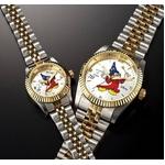 ミッキーダイヤモンドファンタジア 腕時計【メンズ ホワイト】