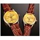 ミッキーマウス 時計24金仕上げ文字盤 腕時計【レディース】 - 縮小画像1