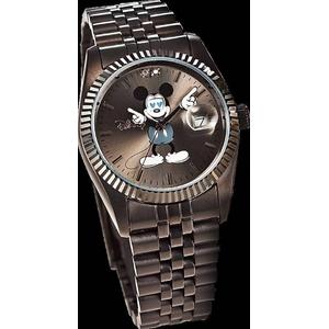 ミッキー 腕時計 シークレットアイ【ブラック】 - 拡大画像