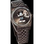 ミッキー 腕時計 シークレットアイ【ブラック】
