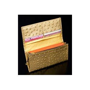 黒門風水式 幸せの風水財布(オースト型押し)