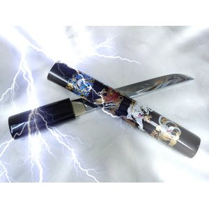 模造刀 四神獣短刀 - 拡大画像