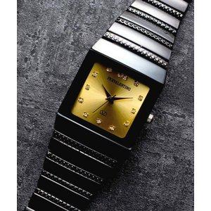 ペレバレンチノ ダイヤモンドミラノ腕時計 ゴールド メンズ - 拡大画像