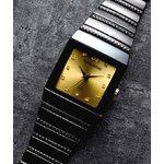 ペレバレンチノ ダイヤモンドミラノ腕時計 ゴールド メンズ