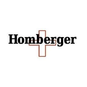 Homberger(オムバーガー)クラシックダブルスケルトン手巻き腕時計 ゴールド h03