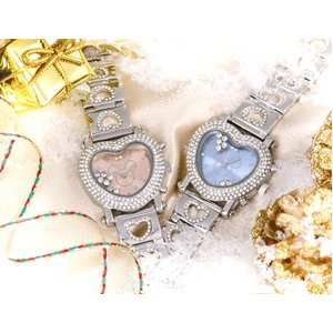 デリシャスハートミッキー 腕時計 ブルー - 拡大画像
