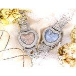 デリシャスハートミッキー 腕時計 ブルー