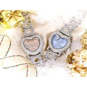 デリシャスハートミッキー 腕時計 ピンク - 拡大画像