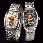 プーさん生誕80周年記念 ファンタジーアワー時計 ブラック