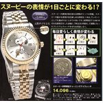 スヌーピー世界限定腕時計 チャーミングアイウォッチ ホワイト