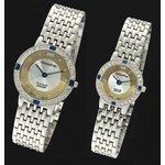 ペレバレンチノ 純金ダイヤ宝飾時計 レディース