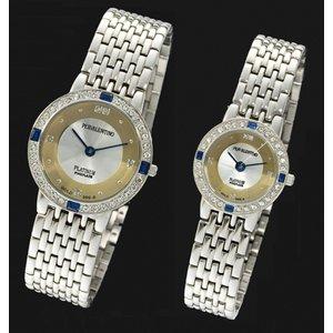ペレバレンチノ 純金ダイヤ宝飾時計 メンズ - 拡大画像
