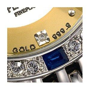 ペレバレンチノ 純金ダイヤ宝飾時計 メンズ f05