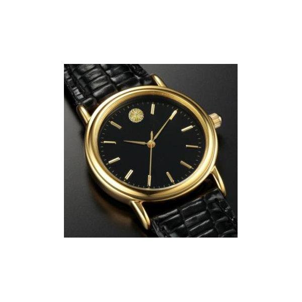 菊紋腕時計f00
