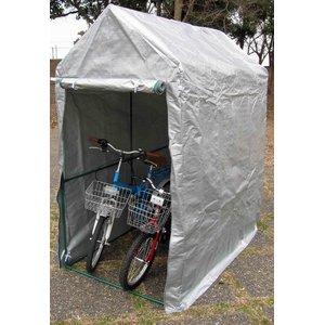 NEWラクラク自転車ハウス 2台用 - 拡大画像