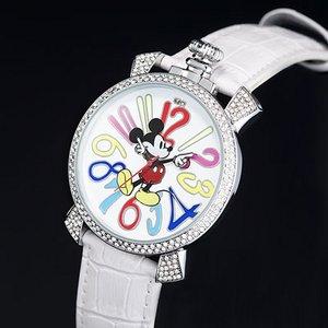 ミッキー ファンタジーカラー腕時計 ホワイト - 拡大画像