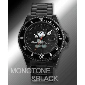 ミッキーダイバーズタイプディズニーミッキーダイヤモンドマリーン MONOTONE&BLACK ダイバーズタイプ - 拡大画像