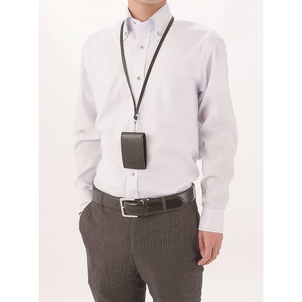 ケミーパーチェ ストラップ付コンパクトスリムウォレットf00