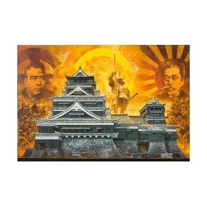1/144 神瞰 熊本城【大天守・小天守】 - 拡大画像
