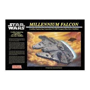 FineMolds(ファインモールド) STAR WARS(スターウォーズ) ミレニアム・ファルコン SW6 1/72 - 拡大画像