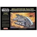 FineMolds(ファインモールド) STAR WARS(スターウォーズ) ミレニアム・ファルコン SW6 1/72