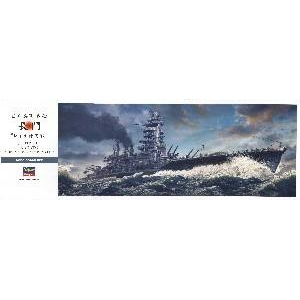 プラモデルセット 1/350 日本海軍戦艦 長門 レイテ沖海戦 - 拡大画像