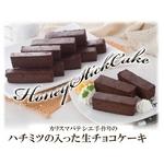 カリスマパティシエ手作り♪しっとり濃厚 ハチミツの入った「生チョコスティックケーキ500g×2セット」 (計1kg)