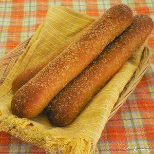 子ども大人もみんなに美味しい!!油で揚げないロングな焼きカリーパン12本セット