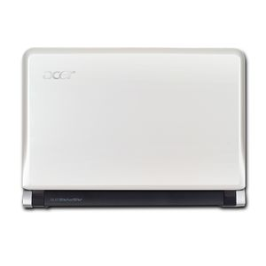acer ノートパソコン Aspire one AOD250 ホワイト - 拡大画像