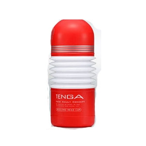 赤TENGA(テンガ) ローリングヘッドカップ TOC-103 - 拡大画像