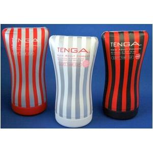 TENGA(テンガ) ソフトチューブ・カップ 3種セット やわらかチューブで、しめつけ自由自在。