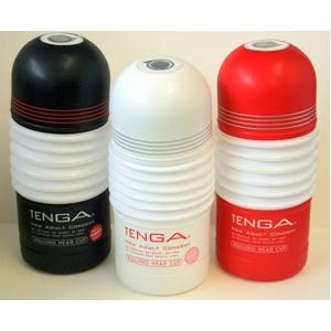 TENGA(テンガ) ローリングヘッド・カップ 3種セット 進化したローリング刺激による、新たな快感。 - 拡大画像