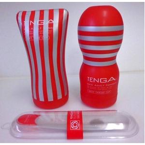 赤TENGA(テンガ) おすすめ 2種セットとホールウオーマー - 拡大画像