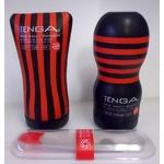 黒TENGA(テンガ) おすすめ 2種セットとホールウオーマー