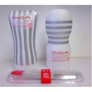 白TENGA(テンガ) おすすめ 2種セットとホールウオーマー - 拡大画像